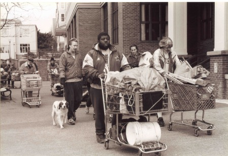 The Shopping Cart Parades. (Image: Kwamba Productions)