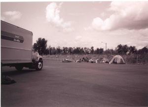 The early set-up at Sunderland Yard.